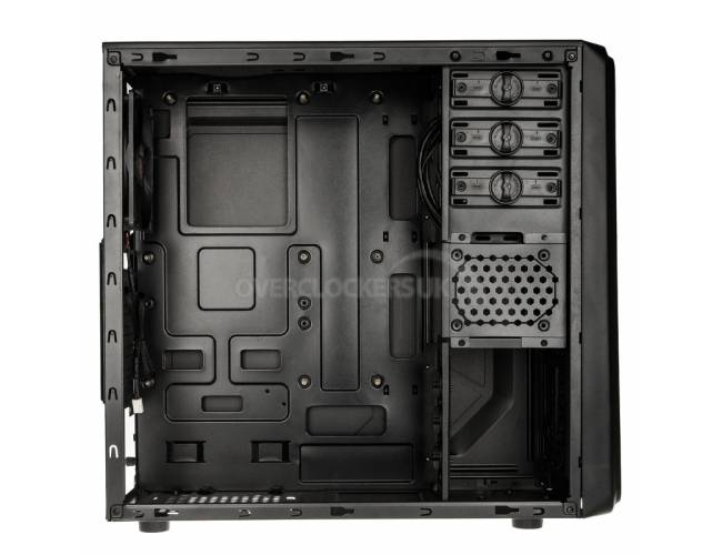 Raijintek Arcadia Midi Tower USB 3.0 Case - Black
