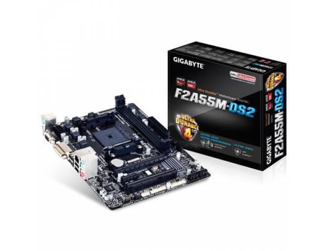 ASRock FM2A68M-DG3+ AMD Socket FM2+ Micro ATX DDR3 D-Sub/DVI-D USB 3.0 Motherboard