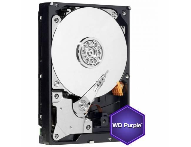 """Western Digital Purple Surveillance 1TB 3.5"""" 7200RPM 64mb Cache Sata III Internal Hard Drive"""
