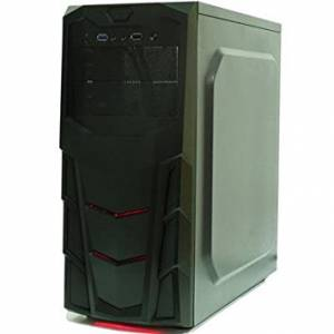 Cronus ATX Gaming Case with 12cm Red LED Fan USB3.0