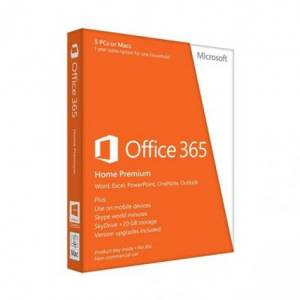 Microsoft Office 365 Home 32/ 64 Bit English 1 Year Subscription Eurozone Medialess
