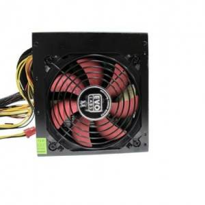 Evo Labs BR750-12R 750w ATX 12cm Red Fan Silent PSU