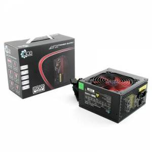 ACE BR500-12R 500W ATX 12cm Red Fan Silent PSU