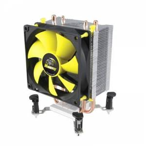 Akasa AK-CC4009EP01 Venom Pico Universal Socket 92mm PWM 3000rpm High Performance Fan CPU Cooler