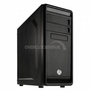 Raijintek Arcadia Midi Tower USB 3.0 Case - Black