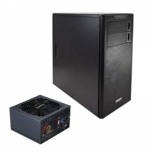 Gigabyte Horus M Micro ATX 2 x USB 3.0 Black Case with Gigabyte Hercules Pro 580W PSU Bundle (Suppled not Fitted)
