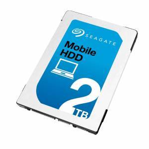 "Seagate Mobile ST2000LM007 2TB 2.5"" 7mm Slim 5400RPM 128mb Cache SATA III Internal Hard Drive"