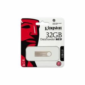 Kingston DataTraveler SE9 32GB USB 2.0 Metal Grey USB Flash Drive