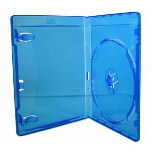 25 x Blu Ray Single DVD Cases Case 14mm Storage Case Clear Sleeve High Quality