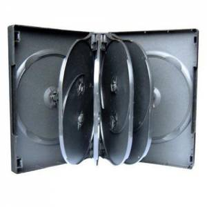 10 x 10 WAY DVD CD MULTICASE CASE CASES HIGH QUALITY