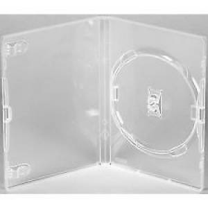 25 X Genuine Clear Single DVD Cases