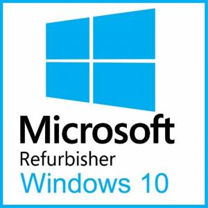 Refurbisher Microsoft Windows 10 Home 64-bit OEM Software Pack for 3 PCs