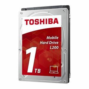 "Toshiba Mobile L200 HDWJ110UZSVA 1TB 2.5"" 5400RPM 64mb Cache SATA III Internal Hard Drive"