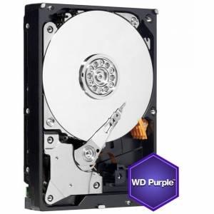 """Western Digital Purple Surveillance 4TB 3.5"""" 7200rpm 64mb Cache Sata III Internal Hard Drive"""